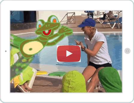 zwemlessen in het buitenland